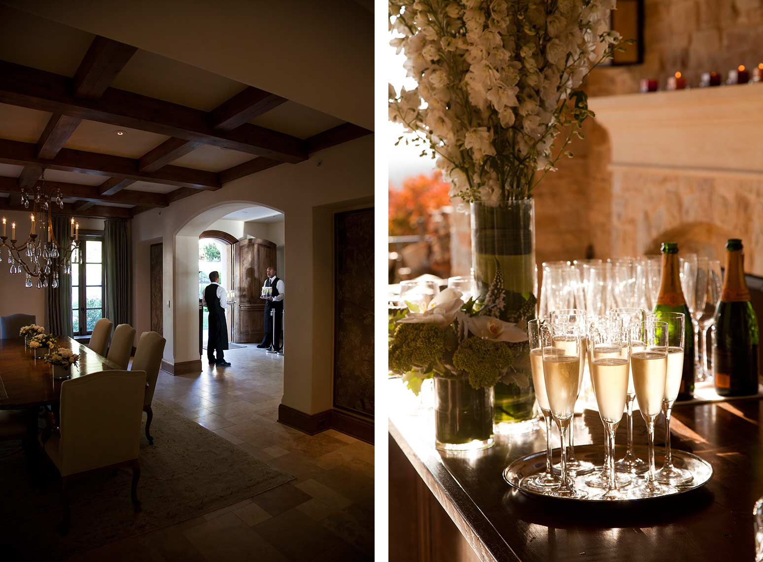 Interior and event photography by Jason Tinacci, Carmel, California
